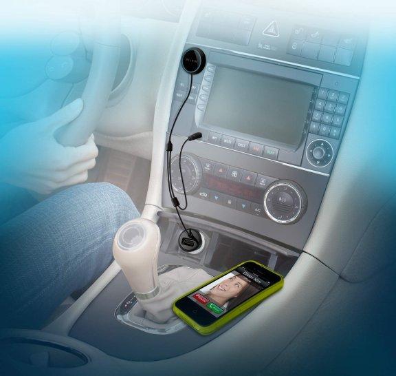 Belkin AirCast Auto -langaton AUX / Bluetooth -audiovastaanotin, kuva 3