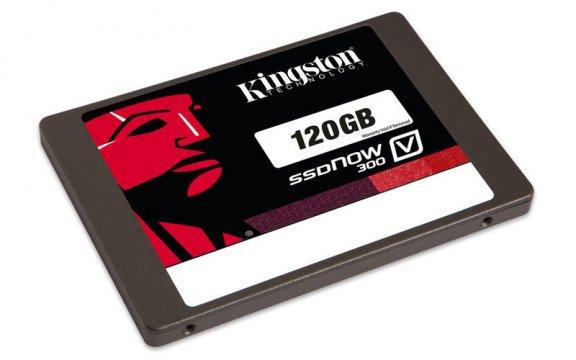 """Kingston SSDNow V300 120 GB SSD 2.5"""" -kovalevy"""