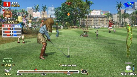 Everybody's Golf -peli, PS4, kuva 9