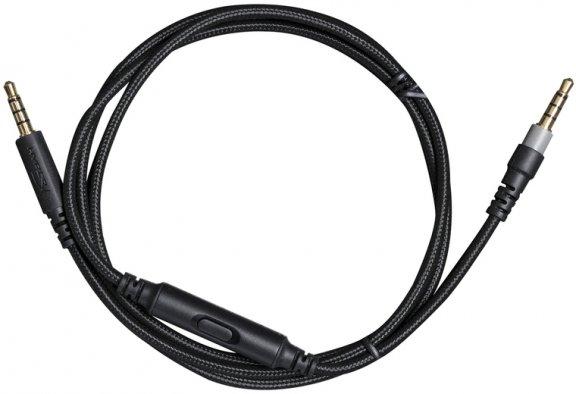 HyperX Cloud Alpha Line-In-Microphone -johto mikrofonilla, musta