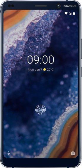 Nokia 9 PureView -Android-puhelin, sininen, kuva 4