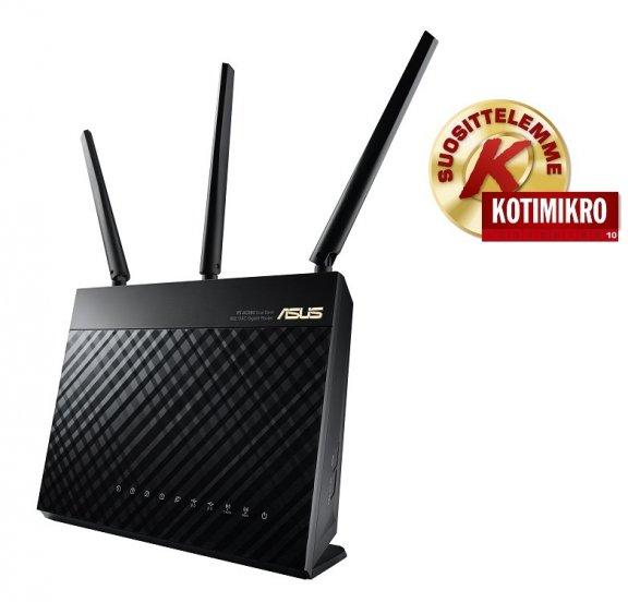 Asus RT-AC68U Dual-band -WiFI-reititin