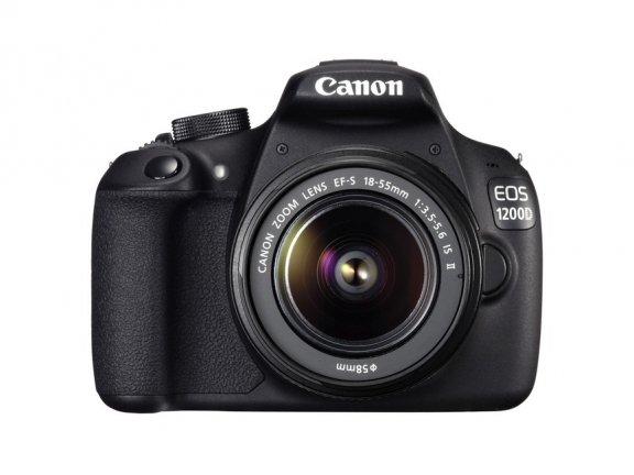 Canon EOS 1200D KIT 18-55 IS II järjestelmäkamera