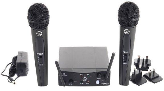 AKG WMS40 Mini 2 ISM2 -Laulumikrofoni-setti, kuva 2