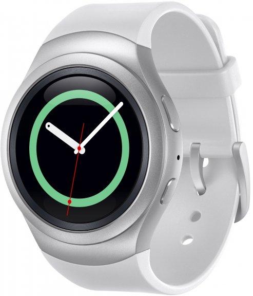 Samsung Gear S2 -Tizen-älykello, valkoinen, kuva 3