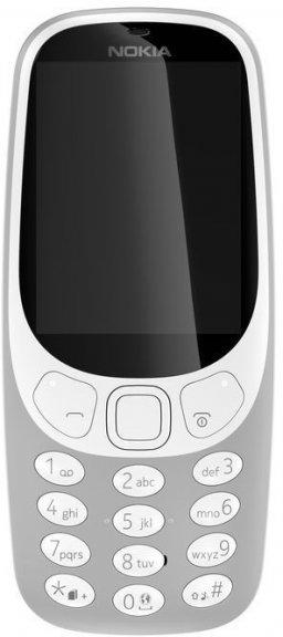 Nokia 3310 -peruspuhelin Dual-SIM, harmaa, kuva 2