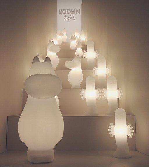 Moomin Lights Hattivatti S -pöytävalaisin, E14, kuva 3