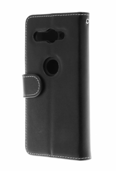 Insmat Exclusive Flip Case -lompakkokotelo, Sony Xperia XZ2 Compact, musta, kuva 2