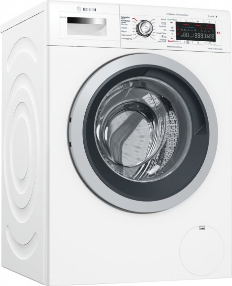 Bosch WAWH26B9SN Serie 8 -pyykinpesukone, valkoinen