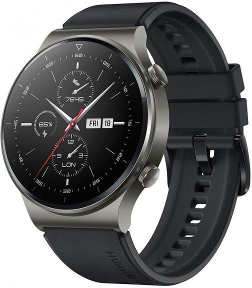 Huawei Watch GT2 Pro, musta
