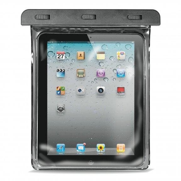 """Puro Waterproof Case Tablet 10.1""""   -vesitiivis suojalaukku, musta, kuva 2"""