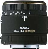 Sigma EX 50mm f/2.8 DG Macro Canon