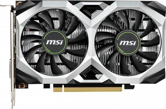 MSI GeForce GTX 1650 VENTUS XS 4G OC -näytönohjain PCI-e-väylään, kuva 2
