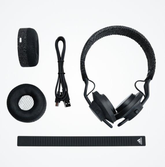 Adidas RPT 01 Sport On-ear -Bluetooth-sankakuulokkeet urheiluun, Night Grey, kuva 7