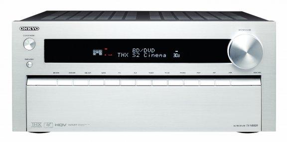 Onkyo TX-NR809, 7.2-kanavainen AV-vahvistin, väri hopea