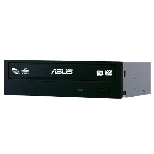Asus DRW-24D5MT/BLK/G/A 24x DVD+/-RW -asema, musta / retail-pakattu