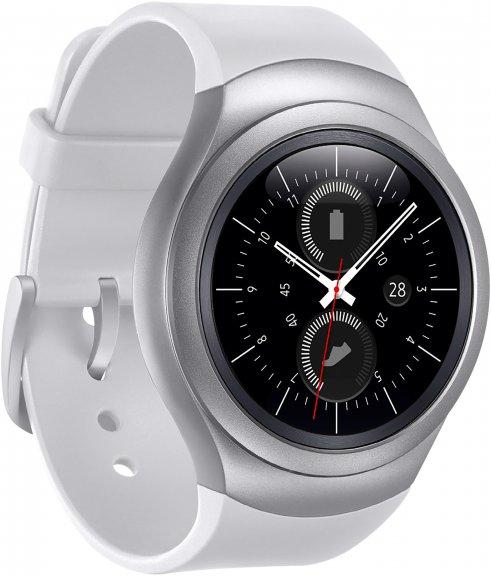 Samsung Gear S2 -Tizen-älykello, valkoinen