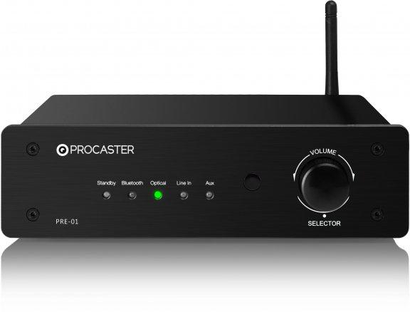 ProCaster PRE-01 -esivahvistin, musta