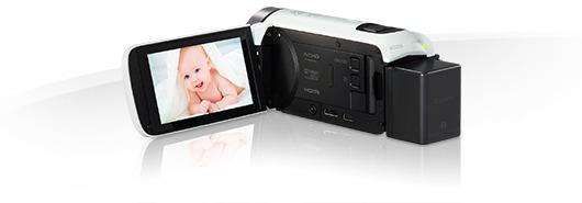 Canon LEGRIA HF R706 -videokamera, valkoinen, kuva 3