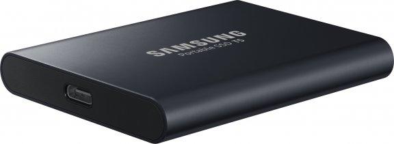 Samsung SSD T5 ulkoinen SSD-levy 1 Tt, musta, kuva 3