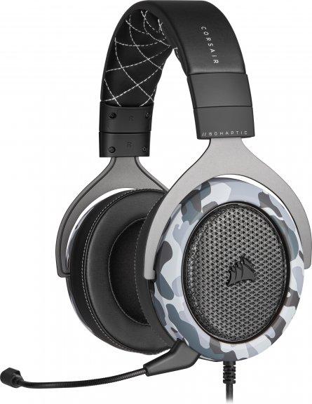 Corsair HS60 HAPTIC -kuulokemikrofoni, musta