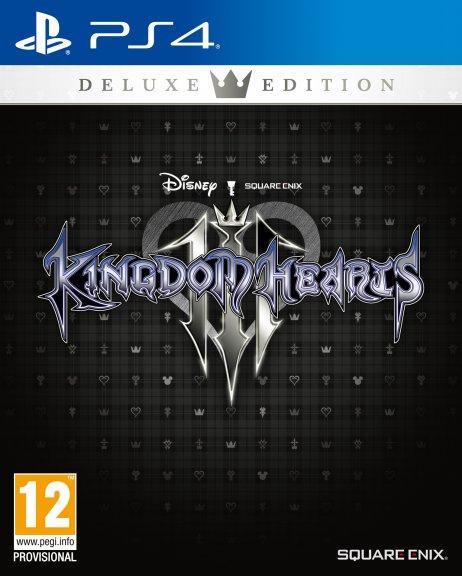 Kingdom Hearts 3 - Deluxe Edition -peli, PS4