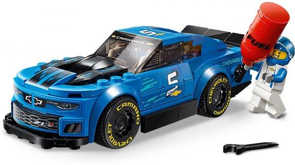 LEGO Speed Champions 75891 - Chevrolet Camaro ZL1 -kilpa-auto, kuva 4