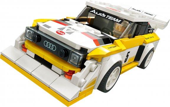 LEGO Speed Champions 76897- 1985 Audi Sport quattro S1, kuva 3