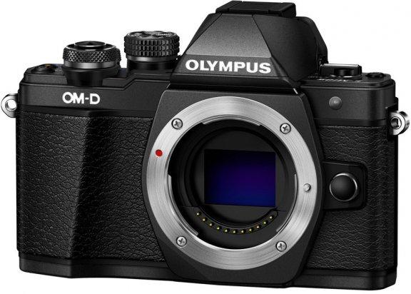 Olympus OM-D E-M10 Mark II -mikrojärjestelmäkamerarunko, musta