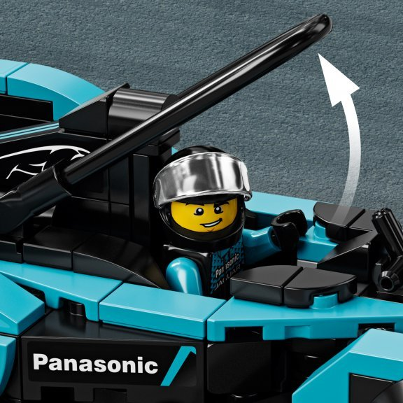 LEGO Speed Champions 76898 - Formula E Panasonic Jaguar Racing GEN2 car & Jaguar I-PACE eTROPHY, kuva 5