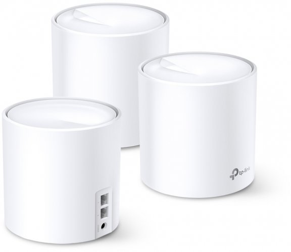 TP-LINK Deco X60 WiFi 6 -Mesh-järjestelmä, 3-pack, kuva 2