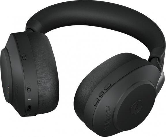 Jabra Evolve2 85 LINK380C MS -langaton headset vastamelutoiminnolla, musta, kuva 4