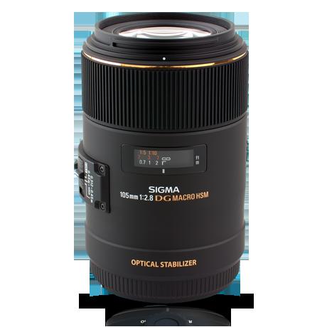 Sigma 105 mm F2.8 EX DG OS HSM Macro -objektiivi, Canon