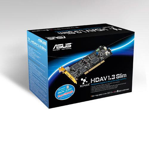 Asus Xonar HDAV1.3 Slim HDMI 1.3 - 7.1-kanavainen äänikortti PCI-väylään, kuva 3