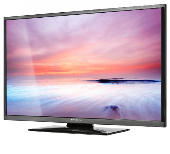 "ProCaster LE-40F405 40"" Full HD LED-televisio, 200 Hz, USB-PVR, DVB-T2, kuva 2"