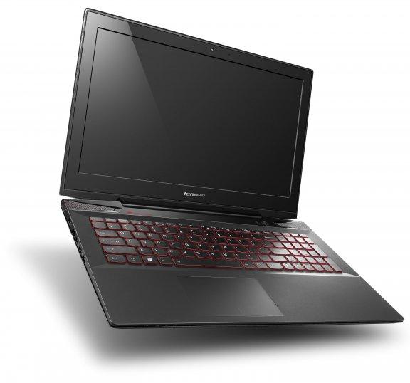 """Lenovo Y50-70 15,6"""" -kannettava, Win 8.1, musta, kuva 4"""