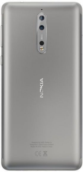 Nokia 8 -Android-puhelin Dual-SIM, 64 Gt, teräs, kuva 3