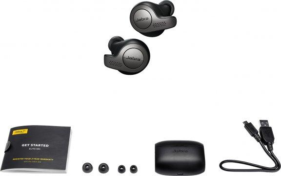 Jabra Elite 65t -Bluetooth-kuulokkeet, musta, kuva 8