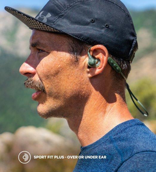 Jaybird X4 -Bluetooth nappikuulokkeet urheiluun, Black Metallic/Flash, kuva 4