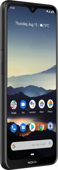 Nokia 7.2 -Android-puhelin Dual-SIM, 128 Gt, musta, kuva 4