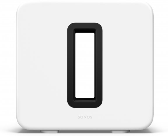 Sonos Sub -subwoofer, kiiltävä valkoinen
