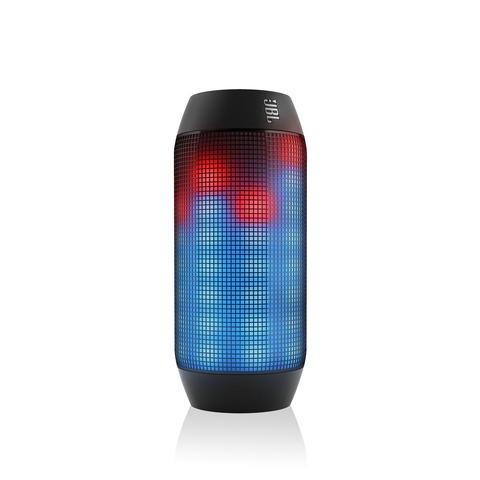 JBL Pulse Bluetooth-matkakaiutin valotehostein, musta