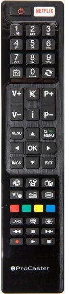 "ProCaster 65UNB700 65"" Smart 4K Ultra HD LED -televisio, 800 Hz, kuva 6"