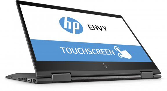 """HP Envy x360 13-ag0001no 13,3"""" -kannettava, Win 10, Tuhkanhopea, kuva 6"""
