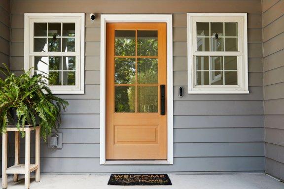 Arlo Essential Video Doorbell -video-ovikello, valkoinen, kuva 9