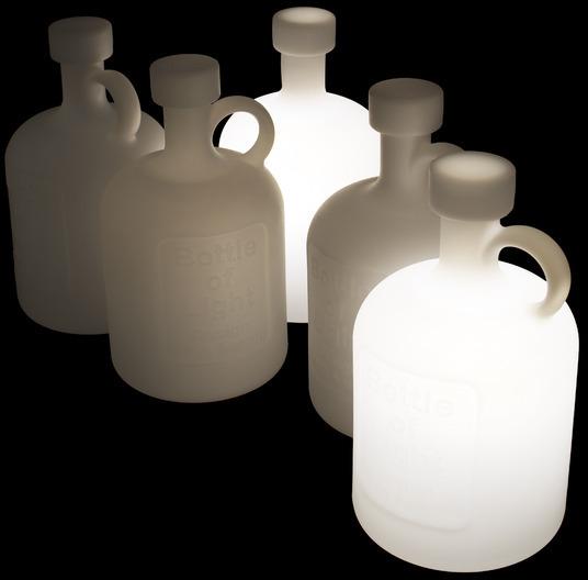 Studio Eero Aarnio Bottle of Light -pöytävalaisin, E27, kuva 2