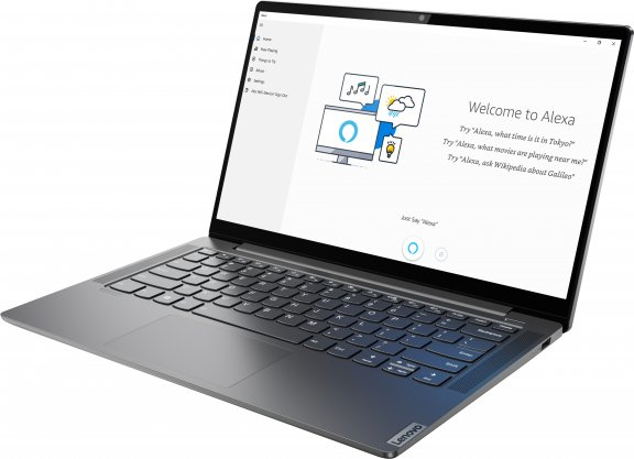 """Lenovo Yoga S740 14"""" -kannettava, Win 10 Pro 64-bit, harmaa, kuva 3"""