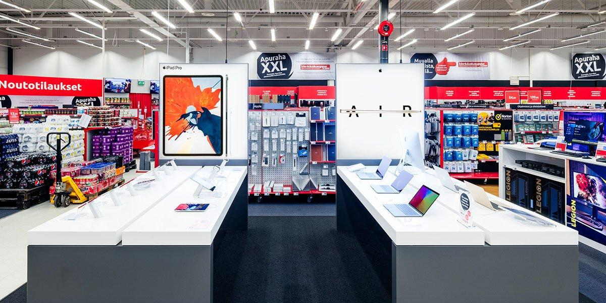 Oulun myymälän Apple Shop