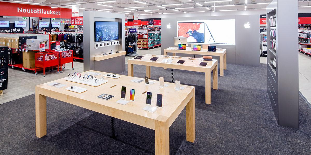 Pirkkalan myymälän Apple Shop
