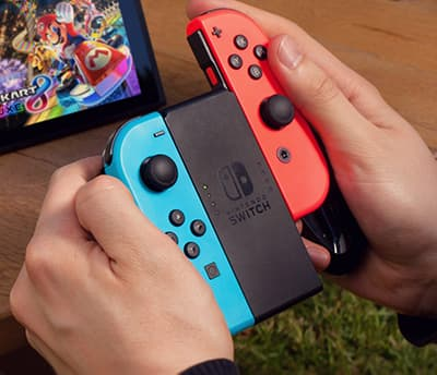 Nintendo Switch -peliohjain irtoaa osiksi